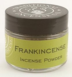 Frankincense Incense Powder - 20gm Glass jar
