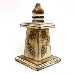 CONE HOLDER Wooden MINI TOWER Box 15CM