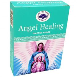 GREEN TREE CONES – ANGEL HEALING