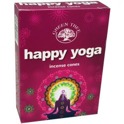GREEN TREE CONES – HAPPY YOGA