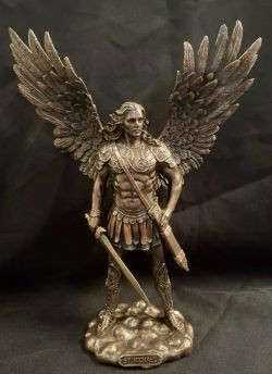 ARCHANGEL MICHAEL (SMALL)with Sword 27.5cm H