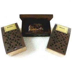 Rosewood Cutwork Box MYRRH Resin
