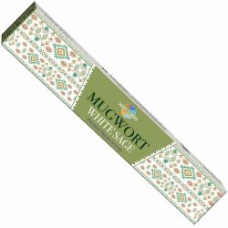 SACRED ELEMENTS MUGWORTH WHITE SAGE INCENSE