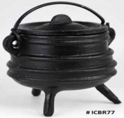 Cauldron Black Cast Iron Medium