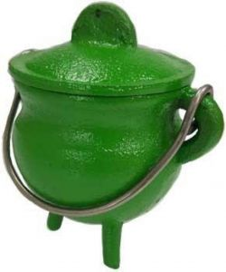 Cauldron Green Cast Iron  Small