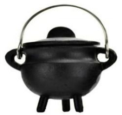 Cauldron Black Cast Iron Small