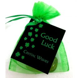 Crystal Wish Bag GOOD LUCK