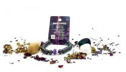 Magnetic Hematite Zodiac Bracelet - AQUARIUS