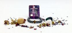 Magnetic Hematite Zodiac Bracelet - GEMINI