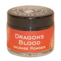 Dragon's Blood Incense Powder - 20gm Glass Jar