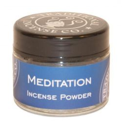 Meditation Incense Powder - 20gm Glass Jar
