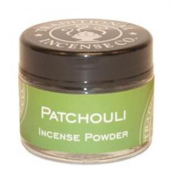Patchouli Incense Powder - 20gm Glass Jar