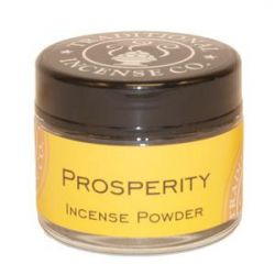 Prosperity Incense Powder - 20gm Glass Jar
