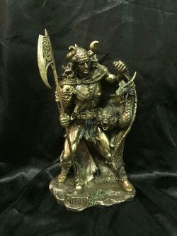 LOKI Norse God Statue  27cm High