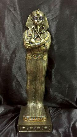 KING TUTANKHAMUN'S SARCOPHAGUS Statue 41cm H