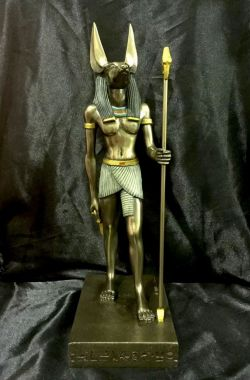 ANUBIS (LARGE) Statue 39cm H