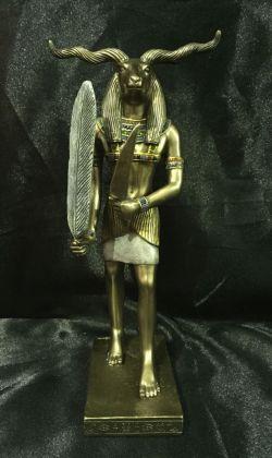 KHNUM Egyptian God Statue 21cm High