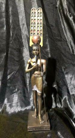 AMUN-RA Egyptian Statue Of  30cm High