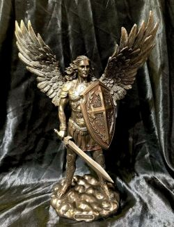 ARCHANGEL MICHAEL(Large)Statue  35cm Tall