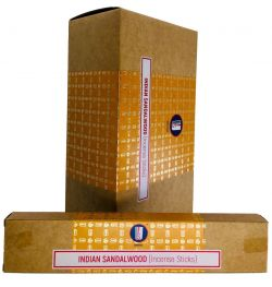Satya Premium Incense INDIAN SANDALWOOD  1 X 15g BOX
